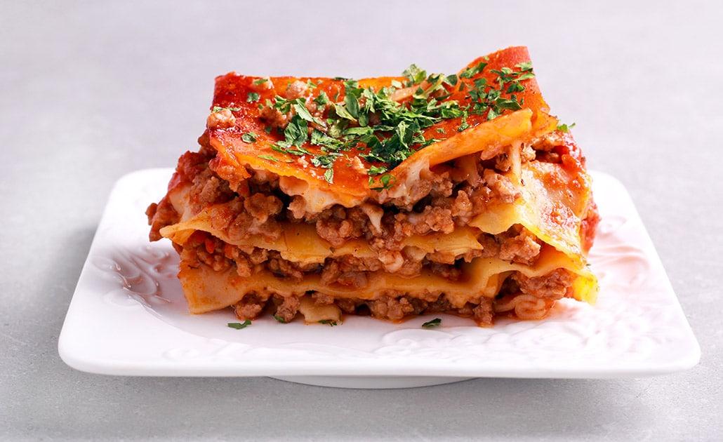 Rețetă de Lasagna cu carne de vită